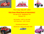 Kids Power Wheel Races