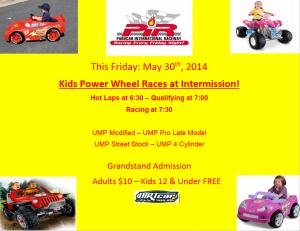 Kids Power Wheel Races