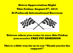 Drivers Appreciation night
